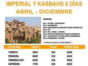 MARRUECOS IMPERIAL Y KASBAHS
